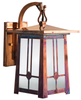 Waverly Hooked Arm Wall Mount Lantern 443-1