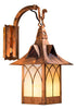 Bridgeview Wall Mount Lantern - Hooked Arm 1044-8