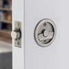 2146 Round Pocket Door Tubular Lock - Dummy