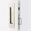 2155 Narrow Trim Rectangular Pocket Door Mortise Lock - Passage