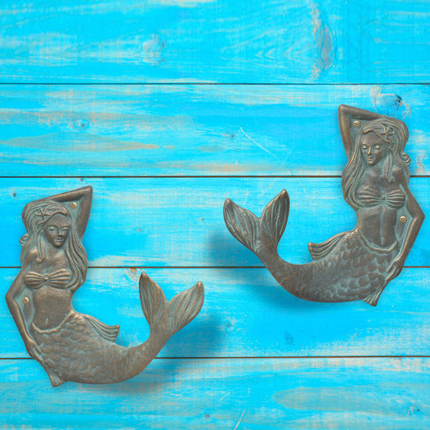 30833 Mermaid Towel Hook Left