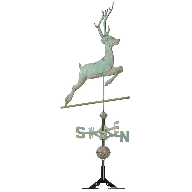 45020 KO Copper Deer Weathervane