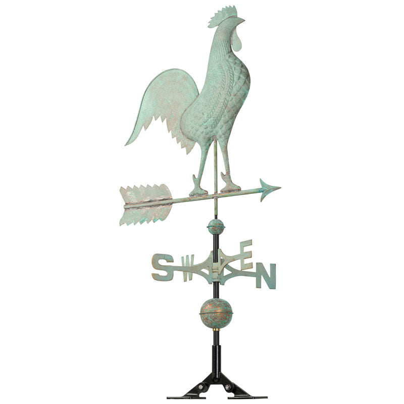 45032 KO Copper Rooster Weathervane