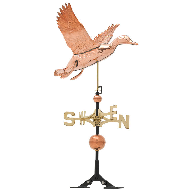 45037 KO Copper Duck Weathervane