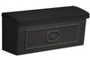 Wall Mount Townhouse Mailbox - Black