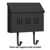 4615BLK Traditional Mailbox - Decorative - Horizontal Style - Black