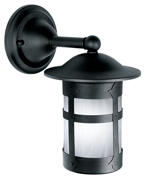 Holly Fixed Arm Wall Mount Lantern 103-8