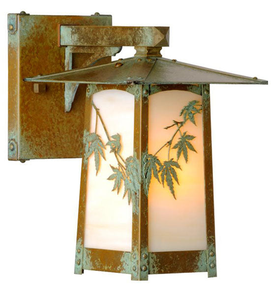 Cobblestone Fixed Arm Wall Mount Lantern 634-8
