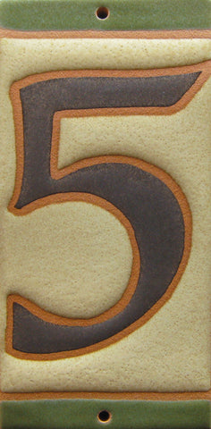 5-inch House Numbers Matte Black Hammered Free Shipping on 2nd 3rd 4th Numbers