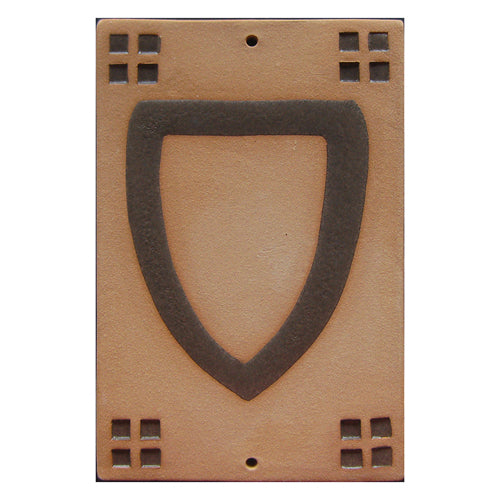 9010 Craftsman Style House Number Tile 0