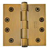 96215 Square Corner Heavy Duty Plain Bearing - 4.5x4.5 Solid Brass