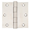 9811332D Square Corner Residential Plain Bearing - 3.5x3.5 Stainless Steel