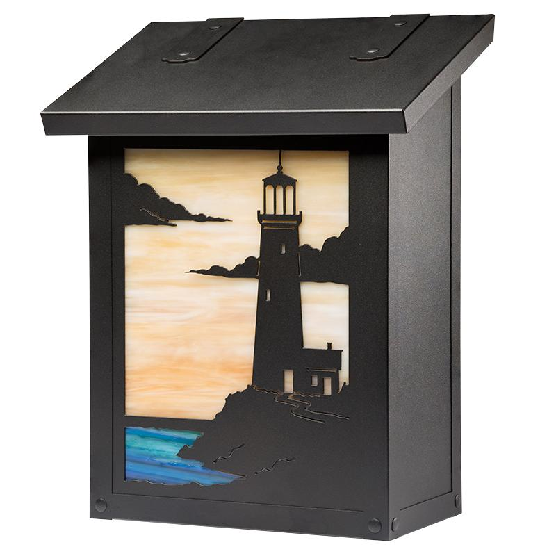AF-1721 Lighthouse Vertical Mailbox