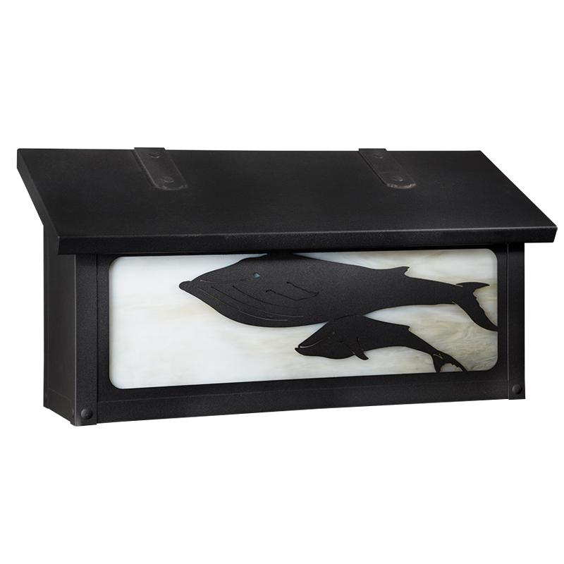 AF-1862 Whales Horizontal Mailbox