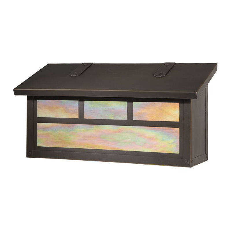 AF-3032 Horizontal Mailbox with Double T Overlay