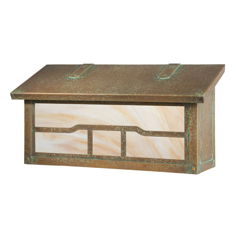 AF-3062 Horizontal Mailbox with Cloud Lift Overlay