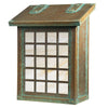 AF-3091 Vertical Mailbox with Window 3 Overlay