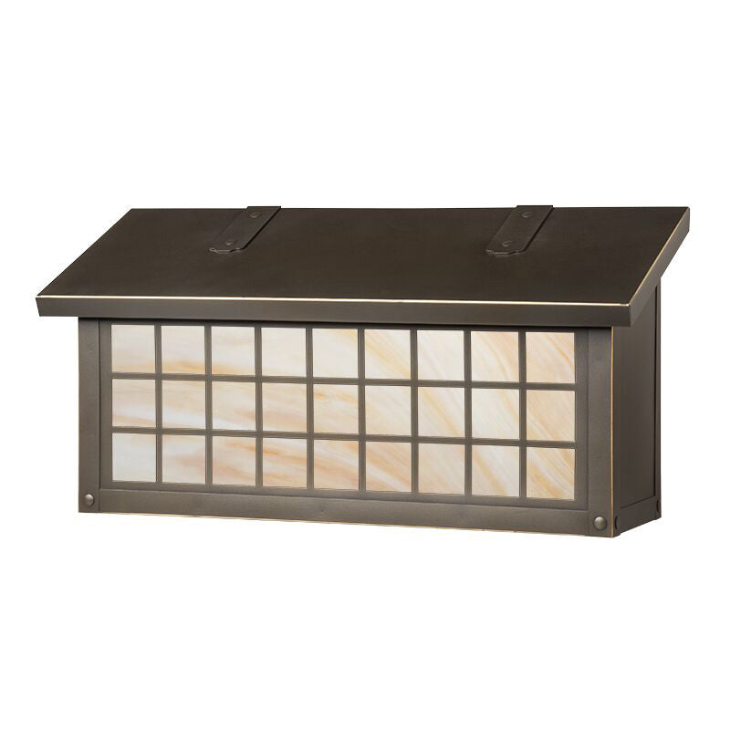 AF-3092 Horizontal Mailbox with Window 3 Overlay