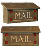 AF-42 Horizontal Mailbox Craftsman Rose with MAIL Stencil