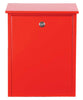 Allux-200 Locking Mailbox - Red