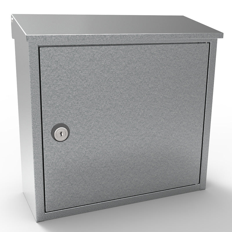 Allux-400G Locking Mailbox - Galvanized