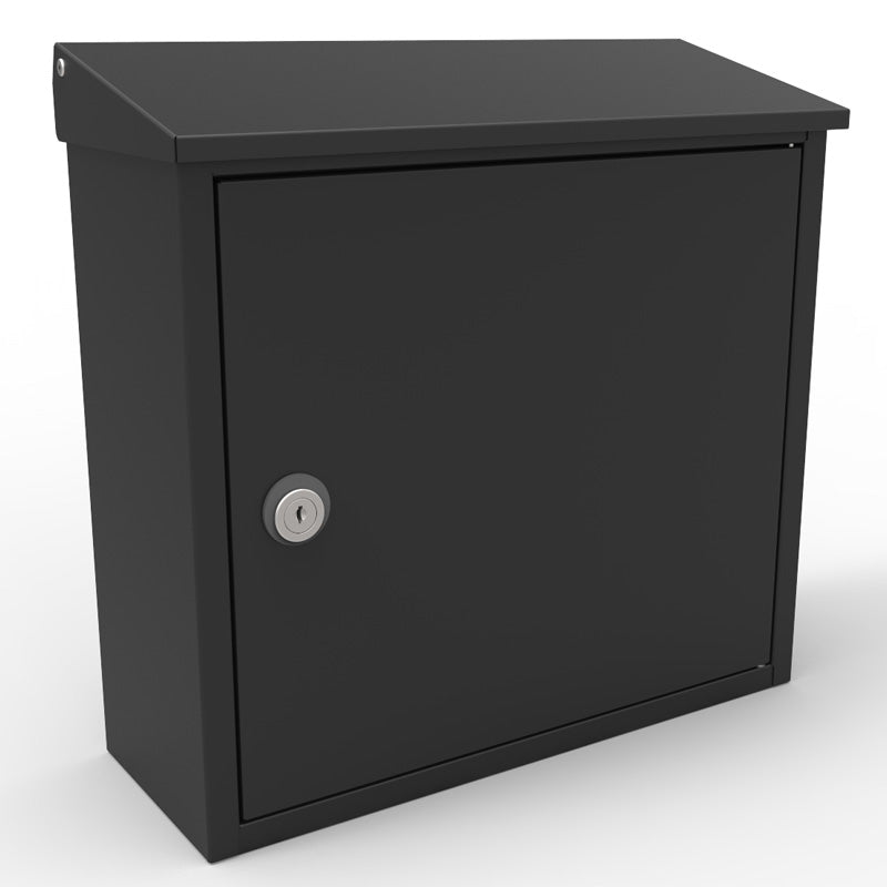 Allux-400S Locking Mailbox - Black
