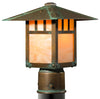 Brookdale Post Mount Lantern 492-3