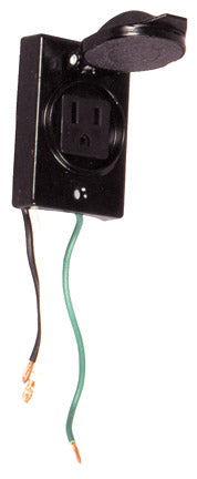 CO268 Post Electrical Outlet