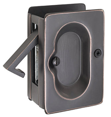 2102 Emtek Pocket Door Lock - Privacy