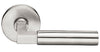 Hercules Brushed Stainless Steel Lever