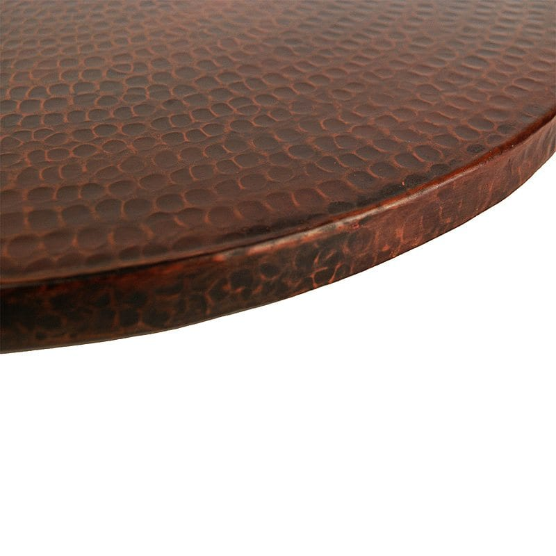 LS20DB 20 Inch Lazy Susan - Hammered Copper