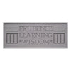 Prudence Learning Wisdom Plaque