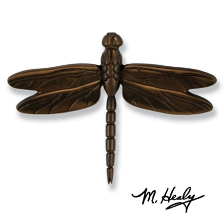 Dragonfly Door Knocker-Oiled Bronze
