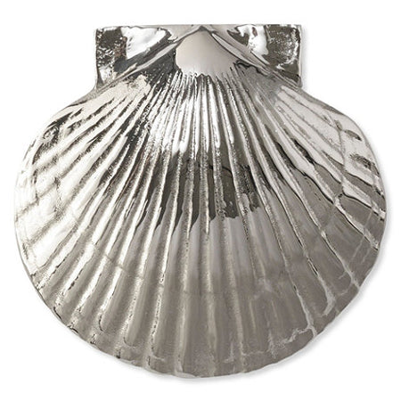 Scallop Door Knocker-Nickel Silver