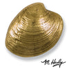 Quahog Door Knocker-Brass