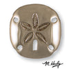 Sand Dollar Door Knocker-Nickel Silver