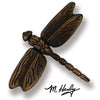 Dragonfly Ringer-Oiled Bronze