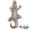 Alligator Ringer-Nickel Silver