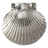 Scallop Standard Door Knocke -Nickel Silver