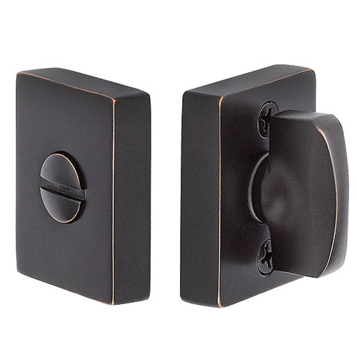 Modern Thumbturn Privacy Lockset-Brass