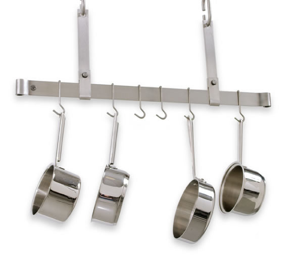 PR11-36 36 Inch Ceiling Bar Rack Stainless Steel