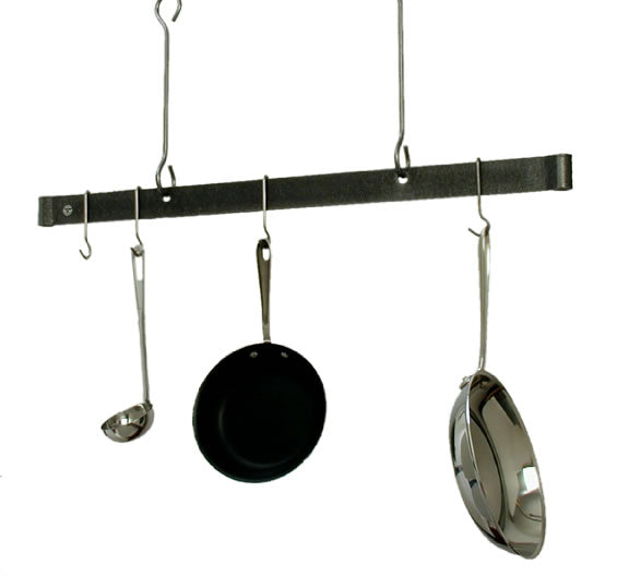 PR18-48 48 Inch Offset Hook Ceiling Rack Ham Steel