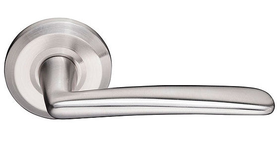 Poseidon Brushed Stainless Steel Lever
