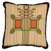 Louis Sullivan Art Glass Window Pillow