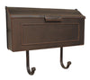 SHH-1006 Horizon Horizontal Residential Wall Mount Mailbox