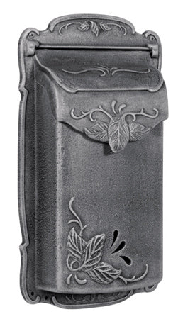 SVF-1001 Floral Vertical Residential Wall Mount Mailbox