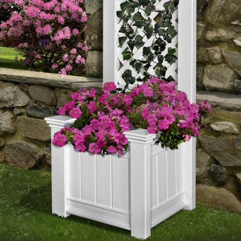 VA68221 Kensington Planter Box and Trellis