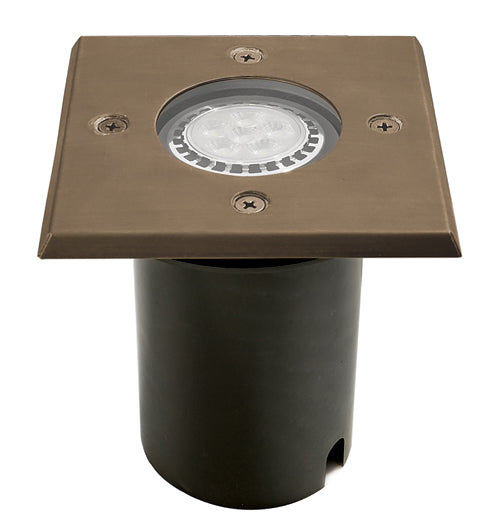 WL-105-LED-4W Brass Well Light