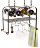 WSR6a Hanging Wine and Accessories Rack