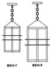 BEH-9 Bexley Hanging Pendant Light